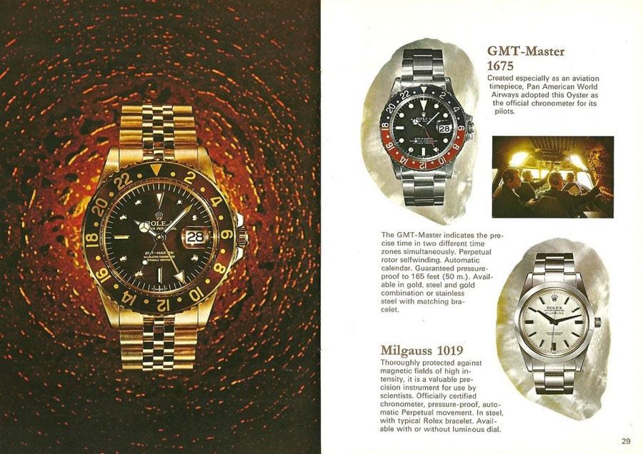 Uhrenbücher helfen bei der Suche nach einer geeigneten Vintage-Uhr.