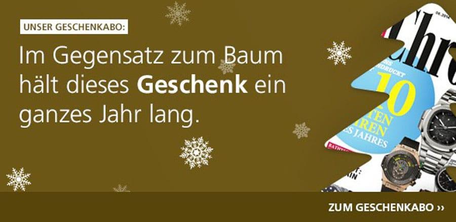 Geschenkabo Chronos: Weihnachtsangebot sichern!