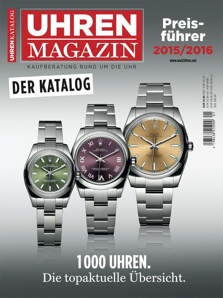 UHREN-MAGAZIN Preisführer 2015/2016