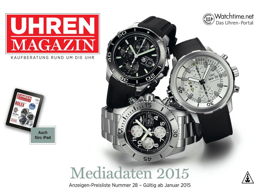 Mediadaten UM 2015