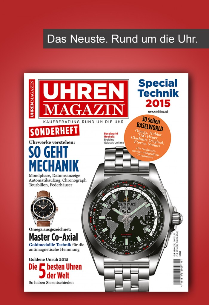 UHREN-MAGAZIN Sonderheft Technik 2015