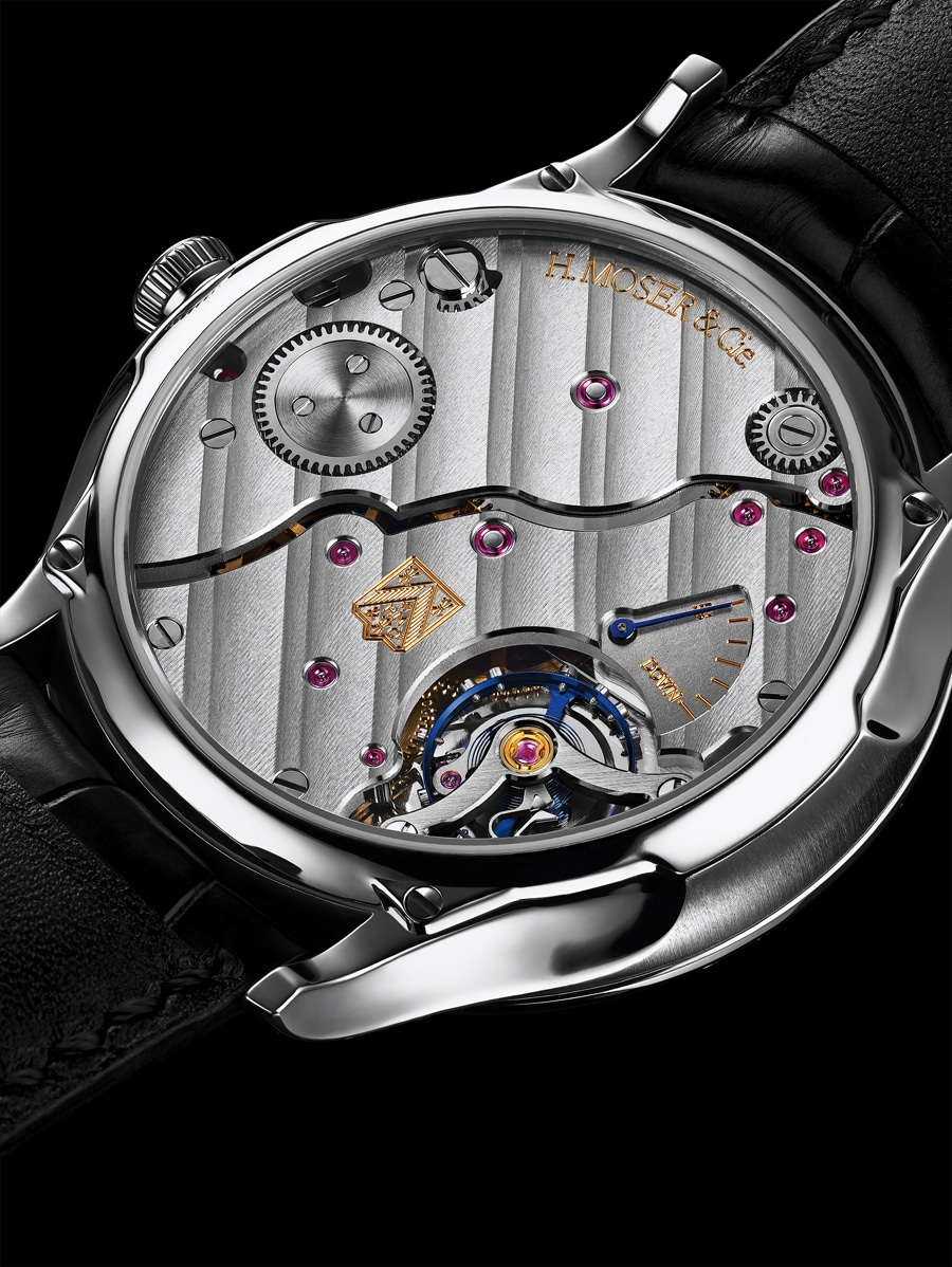 H. Moser & Cie.: Venturer Small Seconds Bucherer Edition, Gehäuseboden