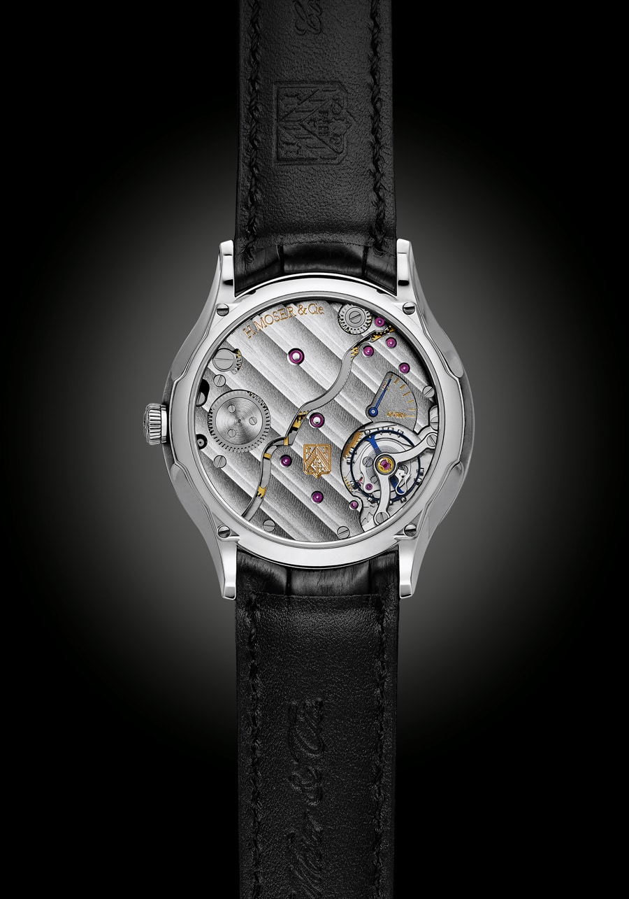 H. Moser & Cie.: Venturer Small Seconds Bucherer Edition, Rückseite
