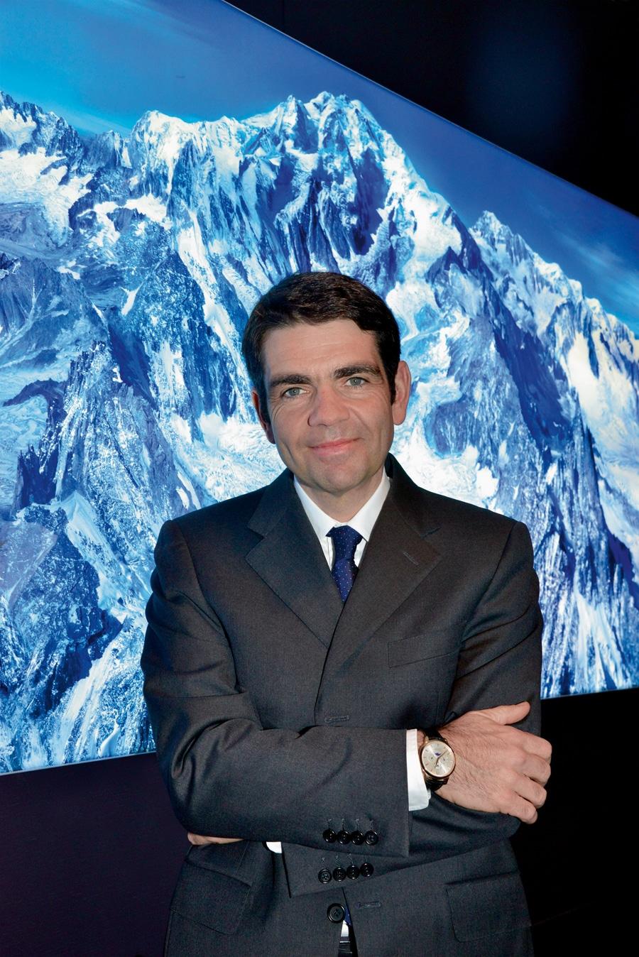 Montblanc: CEO Jérôme Lambert