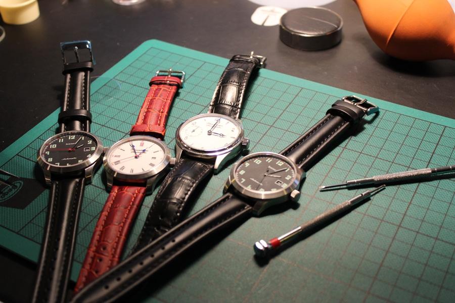 Schaumburg-Watch-Uhrmacherseminar: Alle Modelle