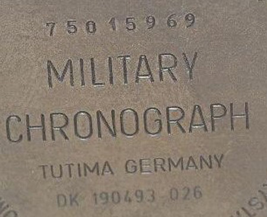 Tutima: Military Chronograph Germany