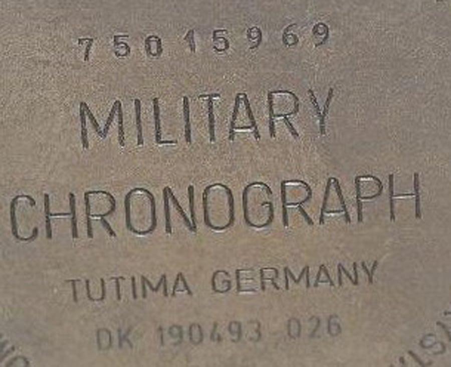Tutima: Military Chronograph Germany