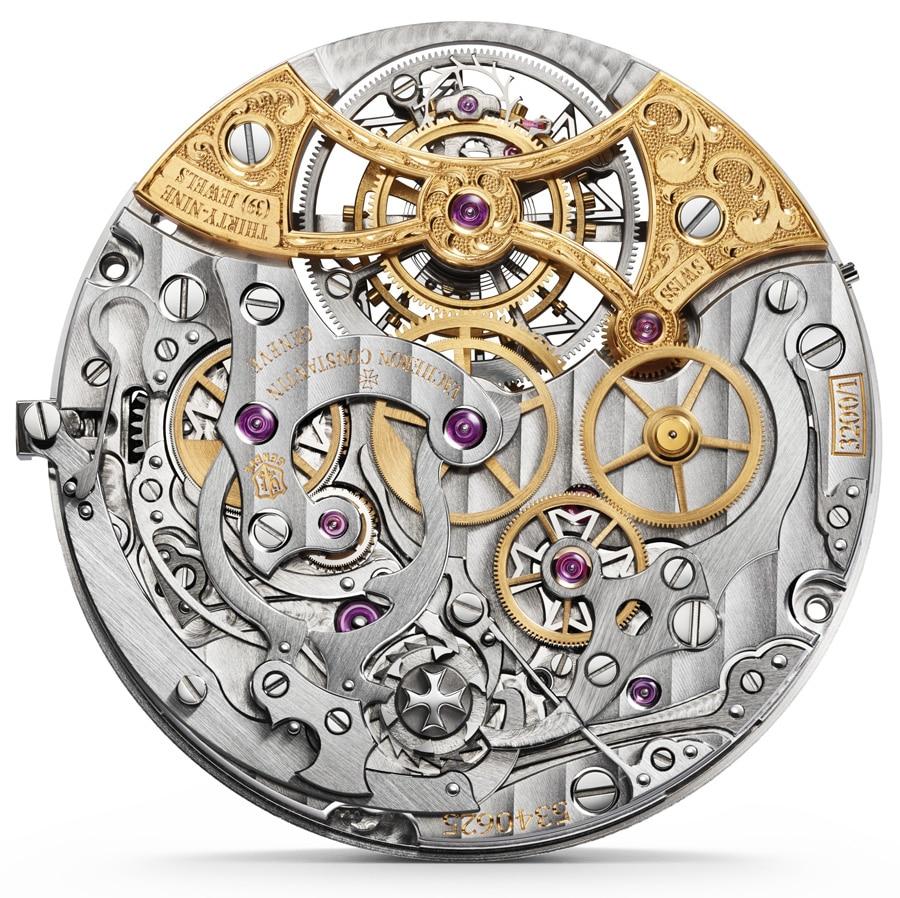 Im Harmony Chronograph Tourbillon 5100 S von Vacheron Constantin arbeitet das Kaliber 3200.