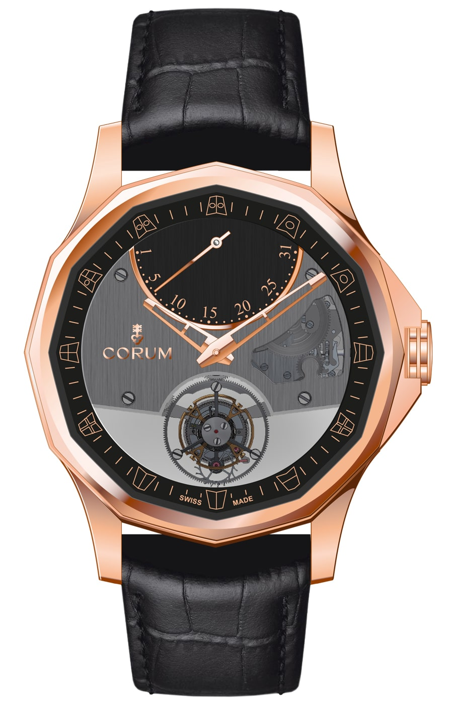 Corum: Admiral's Cup Legend 42 Flying Tourbillon