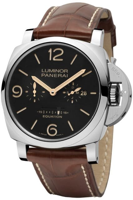Panerai: Luminor 1950 Equation of Time 8 Days Acciaio
