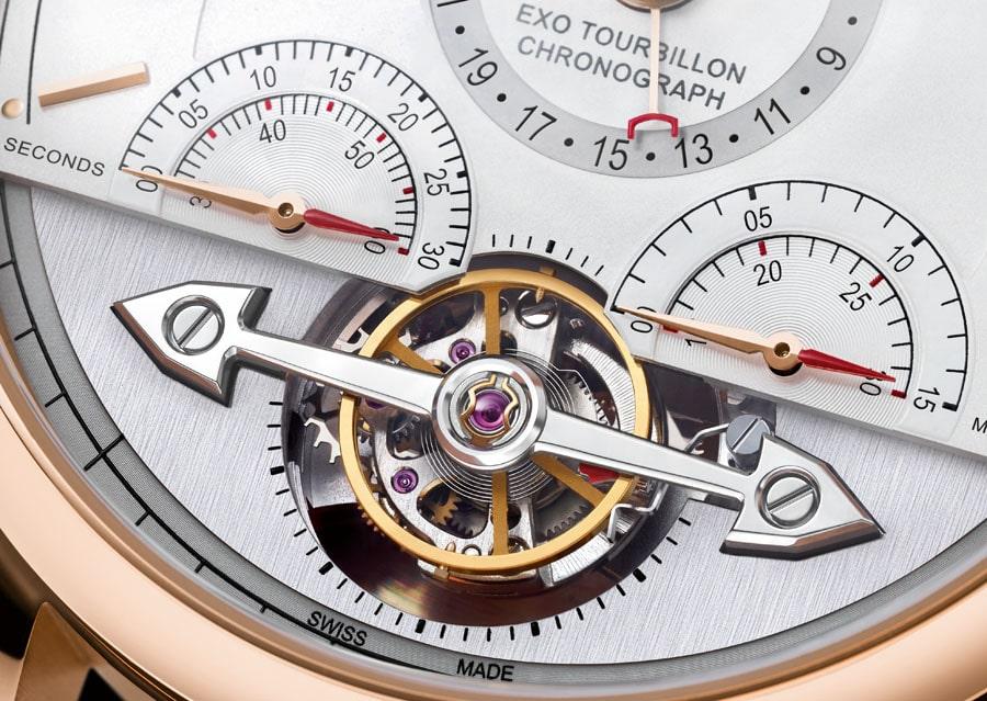 Einblick in das Heritage Chronométrie ExoTourbillon von Montblanc