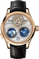 Montblanc: Collection Villeret Tourbillon Cylindrique Geosphères Vasco da Gama