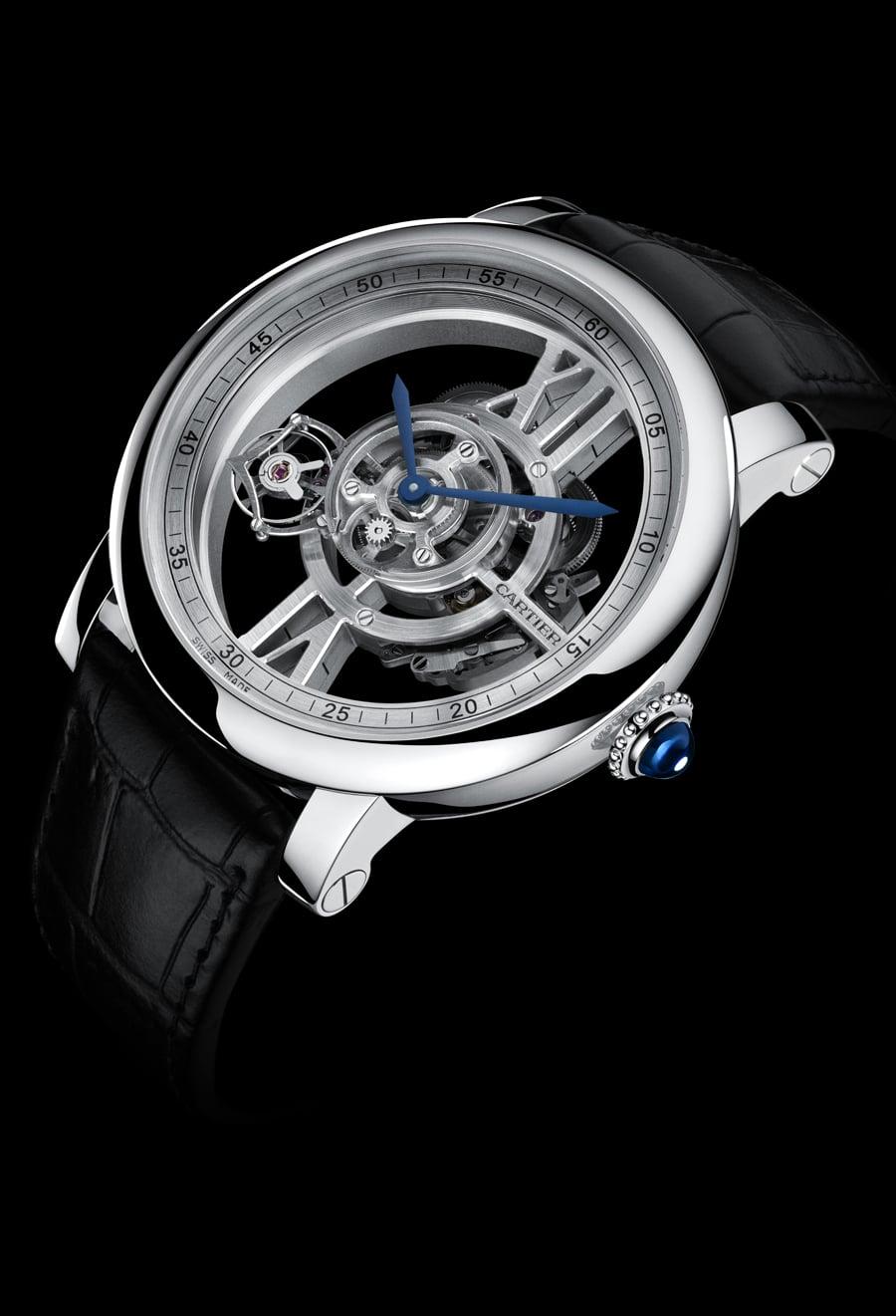 Cartier: Rotonde de Cartier Astrotourbillon Skeleton
