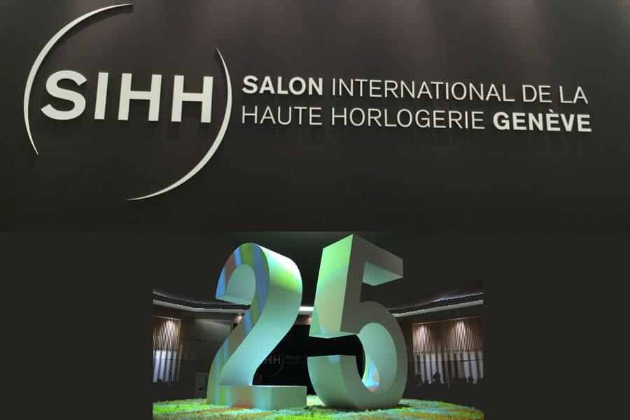 Der Genfer Uhrensalon fand 2015 bereits zum 25. Mal stattMal
