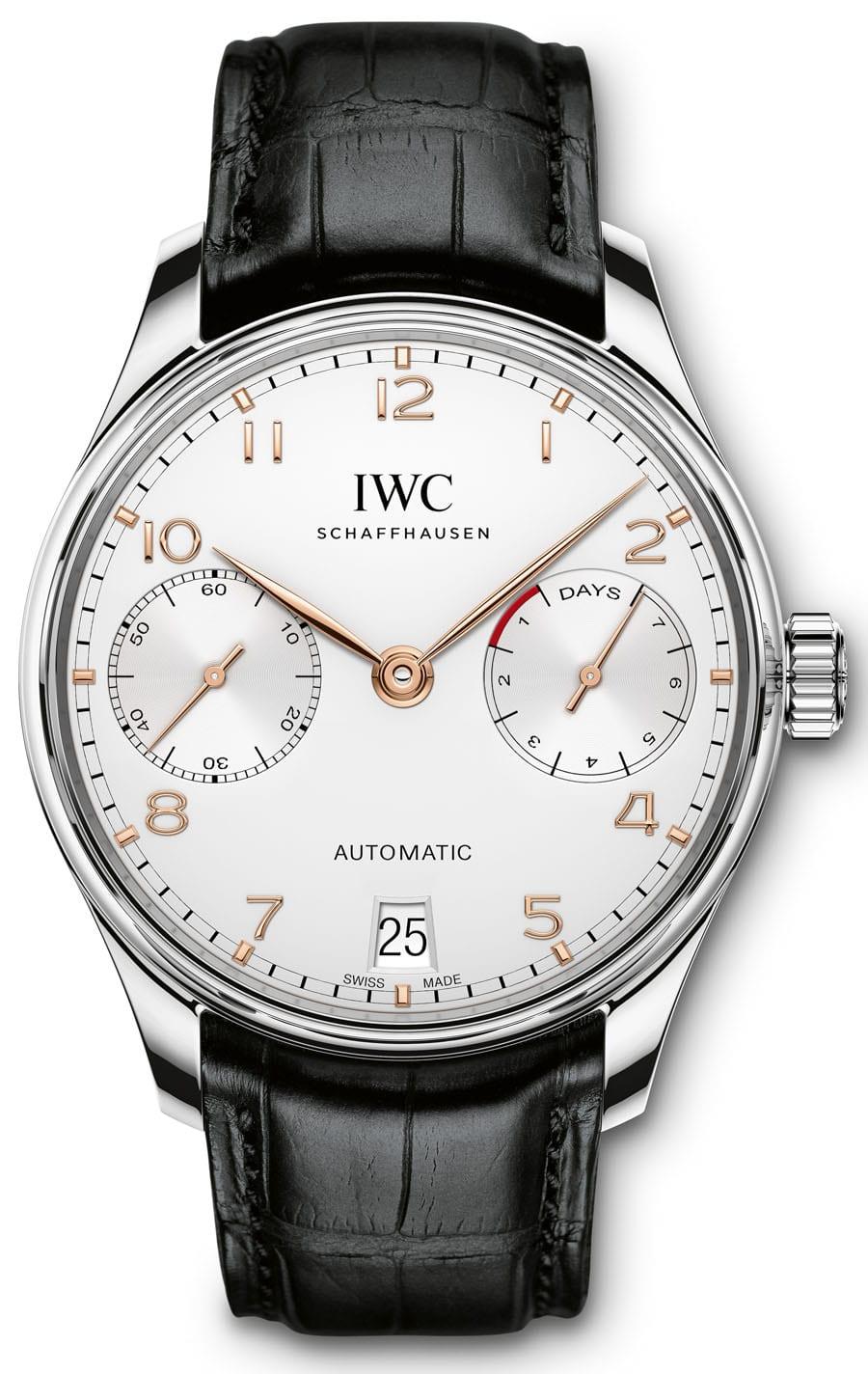 IWC: Portugieser Automatic, Edelstahlgehäuse