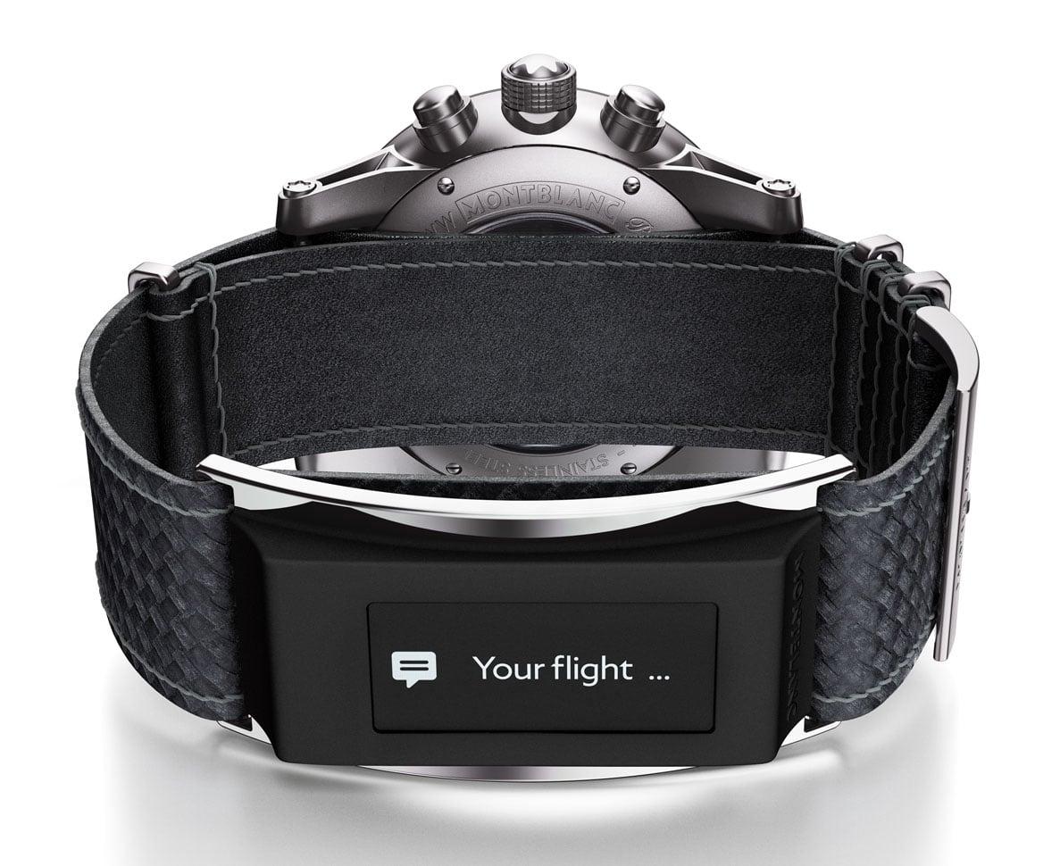 Montblanc TimeWalker Urban Speed Chronograph mit e-Strap
