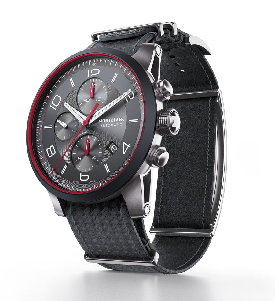 Die erste mechanische Smartwatch: Montblanc Der TimeWalker Urban Speed Chronograph mit e-Strap von Montblanc