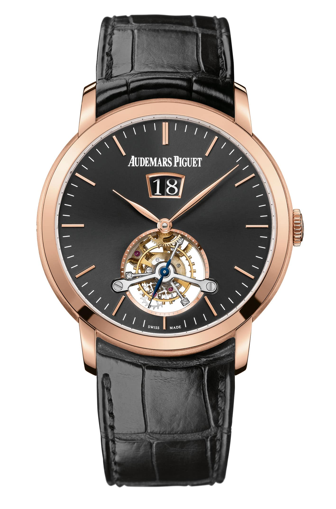 Audemars Piguet: Jules Audemars Tourbillon Large Date