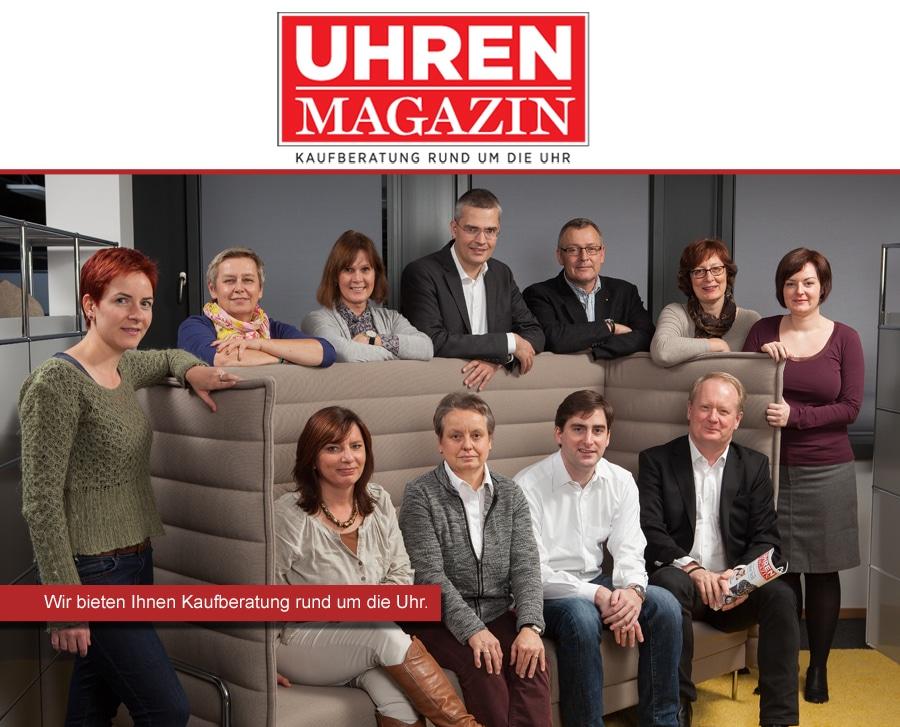 UHREN-MAGAZIN: Das Team