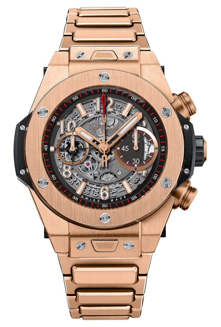 Hublot Big Bang Unico Bracelet King Gold