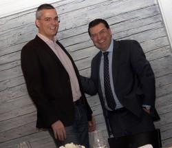 Rüdiger Bucher, Chefredakteur Chronos, und Juan-Carlos Torres, CEO von Vacheron Constantin