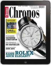 Chronos 2/2015 auf dem iPad