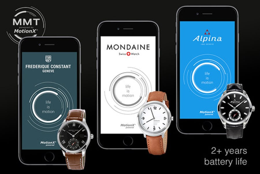Horological Smartwatches: Frédérique Constant, Mondaine, Alpina