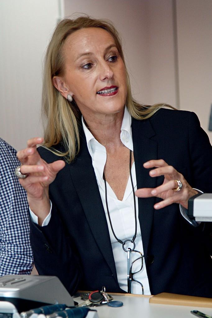 Leserreise Glashütte: Christine Hutter, Gründerin und Geschäftsführerin Christine Hutter