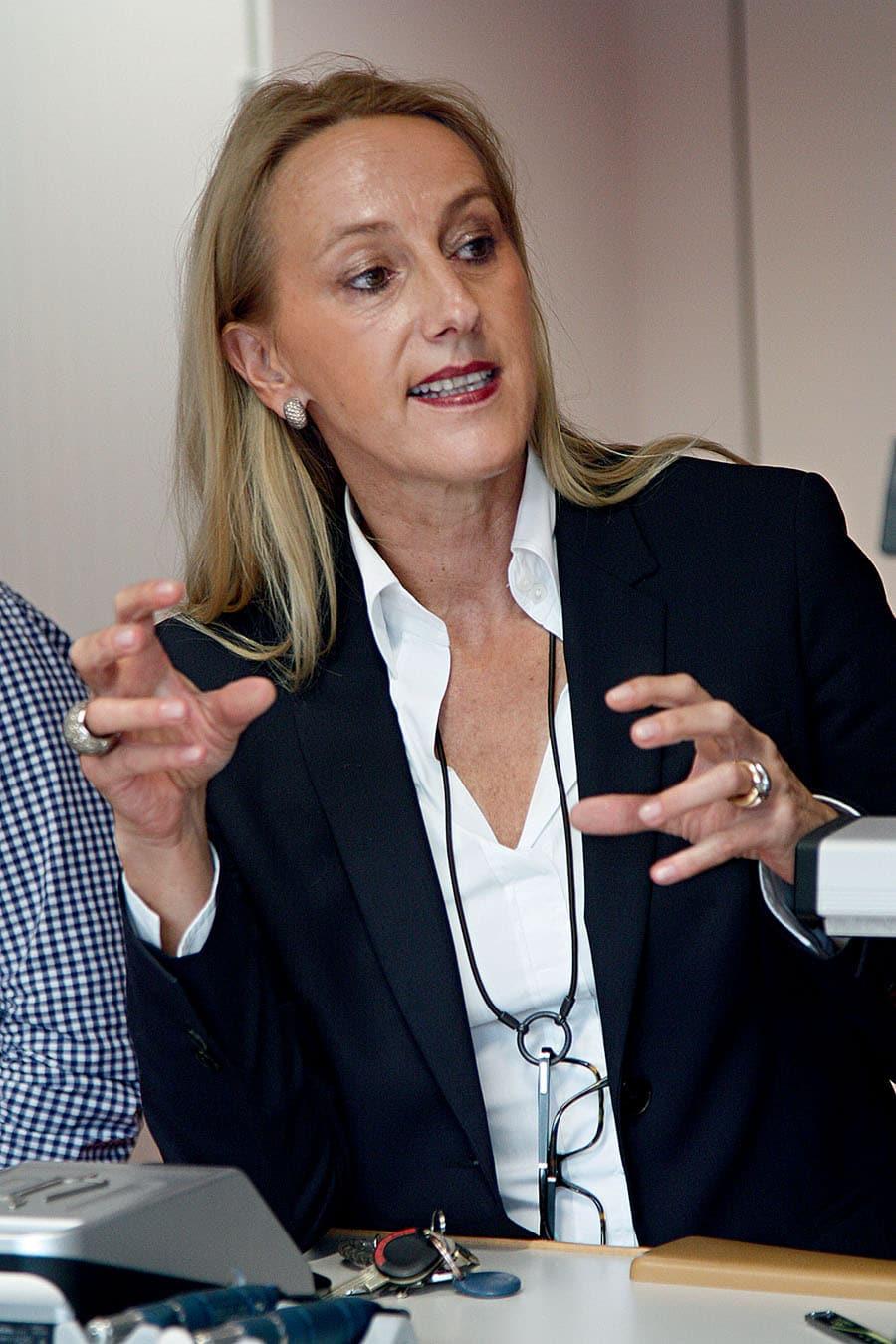 Christine Hutter, Gründerin und Geschäftsführerin Moritz Grossmann, gehört zu den Gästen des luxuriösen CEO-Dinners der Leserreise.