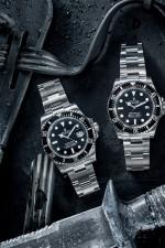 Mitten drin: Die Rolex Sea-Dweller 4000 wirkt wie das Mittelkind zwischen der Rolex Submariner und der Rolex Deepsea