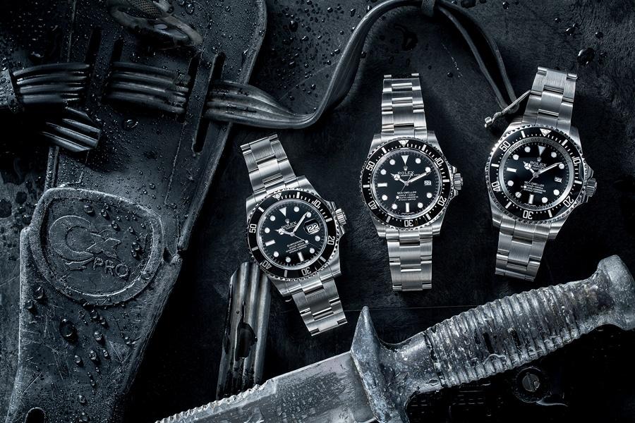 Schwer einzuordnen: Die Rolex Sea-Dweller 4000 wirkt wie das Mittelkind zwischen der Rolex Submariner und der Rolex Deepsea.