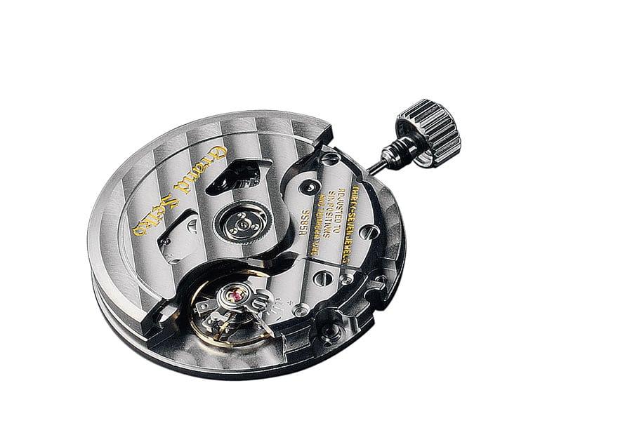 Schnellschwinger: Das Automatikkaliber 9S85 von Seiko mit fünf Hertz Unruhfrequenz, das in der Grand Seiko Hi-Beat 36.000 GMT arbeitet