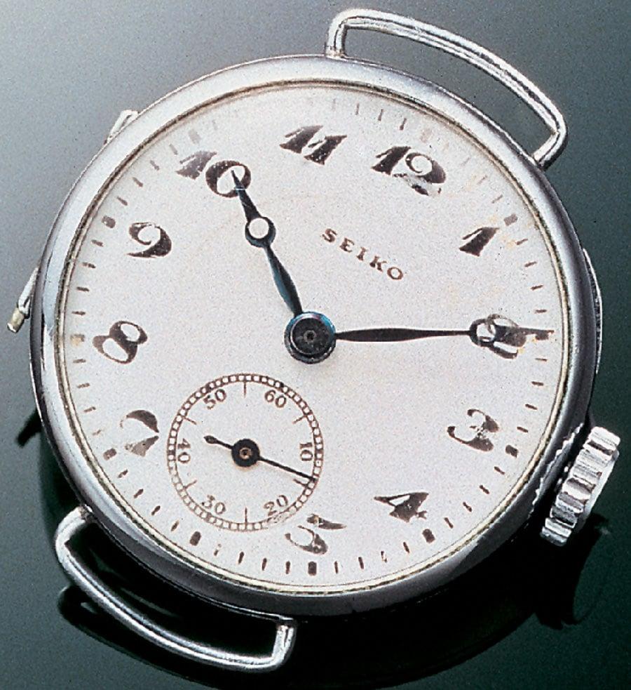 Seiko: Erstes Modell, 1924