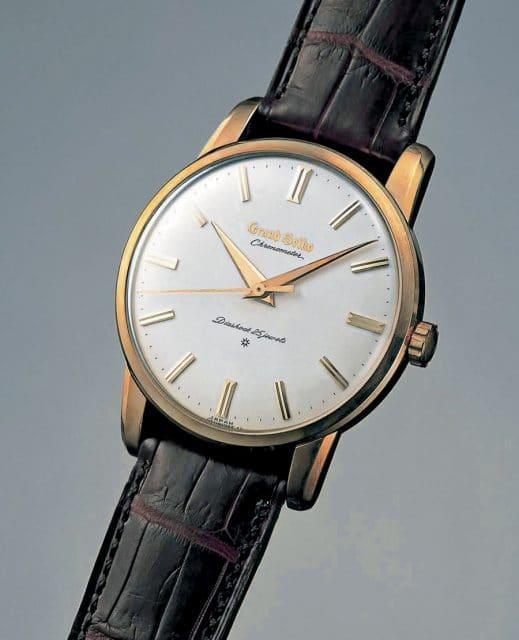 Das Original: Die 1960 lancierte Grand Seiko