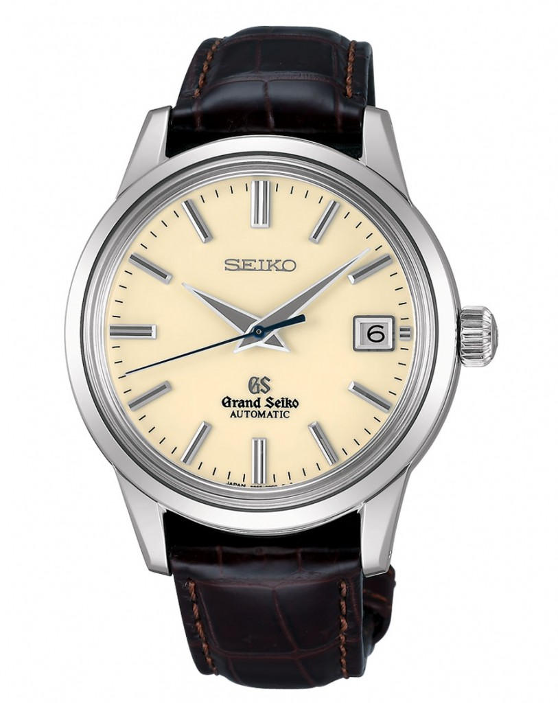Grand Seiko Automatic mit Alligatorlederarmband