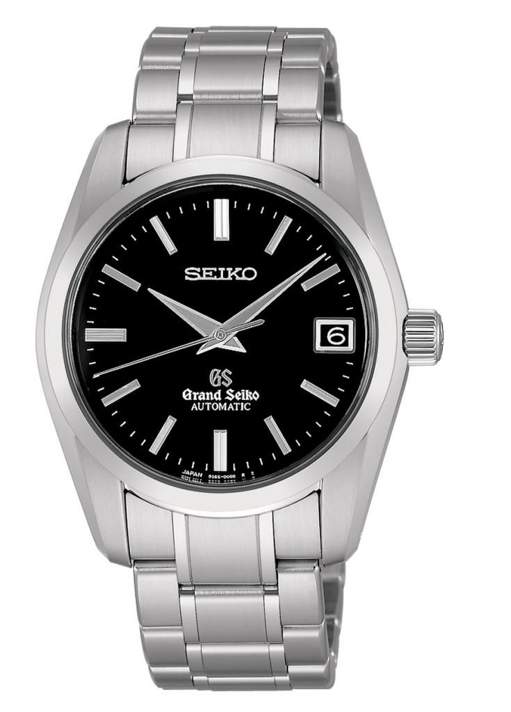 Grand Seiko ganz in Edelstahl mit Automatikkaliber 9S65,