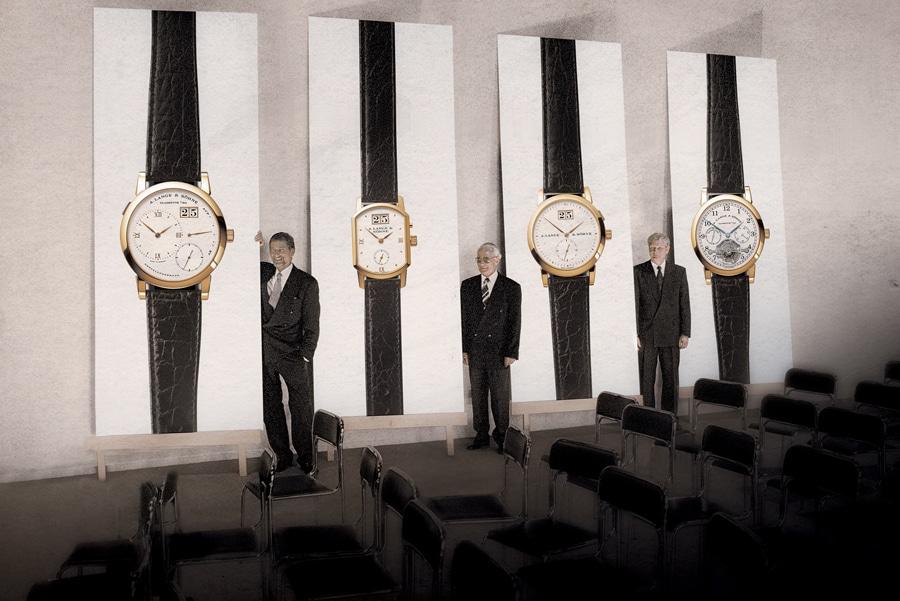 Vorstellung der ersten Kollektion der neugegründeten Marke A. Lange & Söhne
