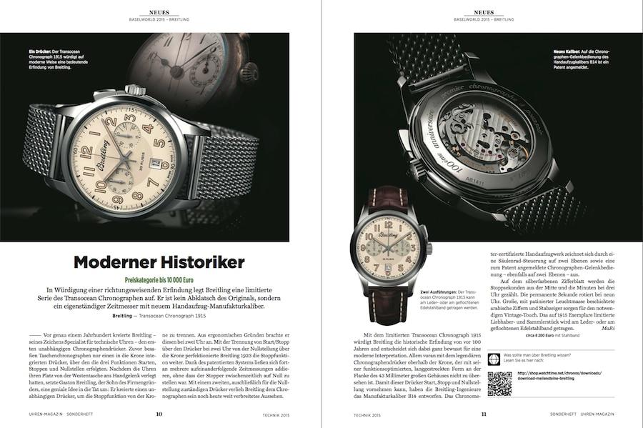 Die ersten Neuheiten der weltgrößten Uhrenmesse stehen in diesem Sonderheft.