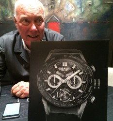Chronos-Chefredakteur Rüdiger Bucher interviewt Jean-Claude Biver