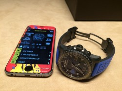 Breitling B-55 Connected mit Smartphone