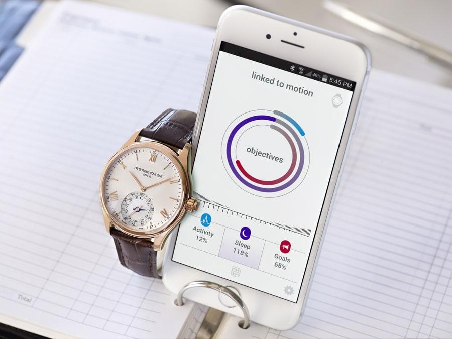 Die Horological Smartwatch von Frédérique Constant