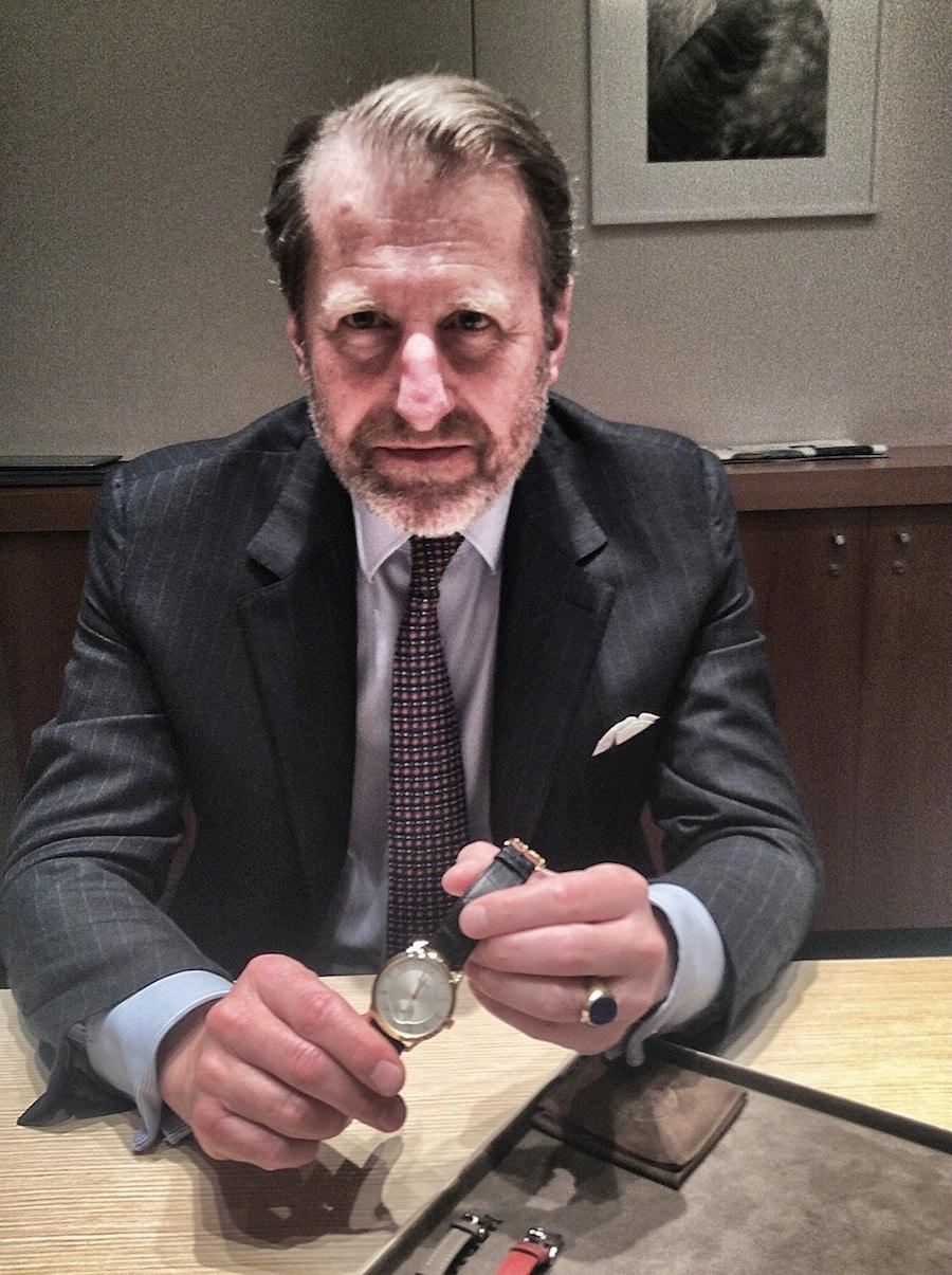 Der Executive Vice President von Hermès steuert als Chairman von La Montre Hermès auch das Uhrengeschäft.