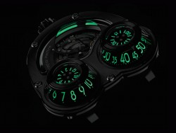 MB&F: HM3 MegaWind Finale Edition, Nachtansicht