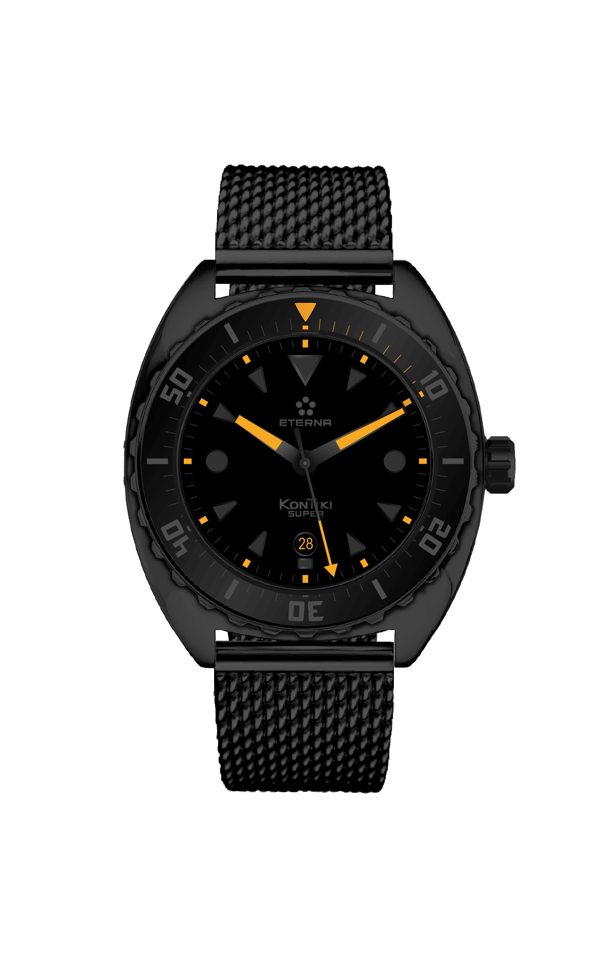 Eterna: Super KonTiki Black Limited Edition, Referenz 1273.43.41.1365