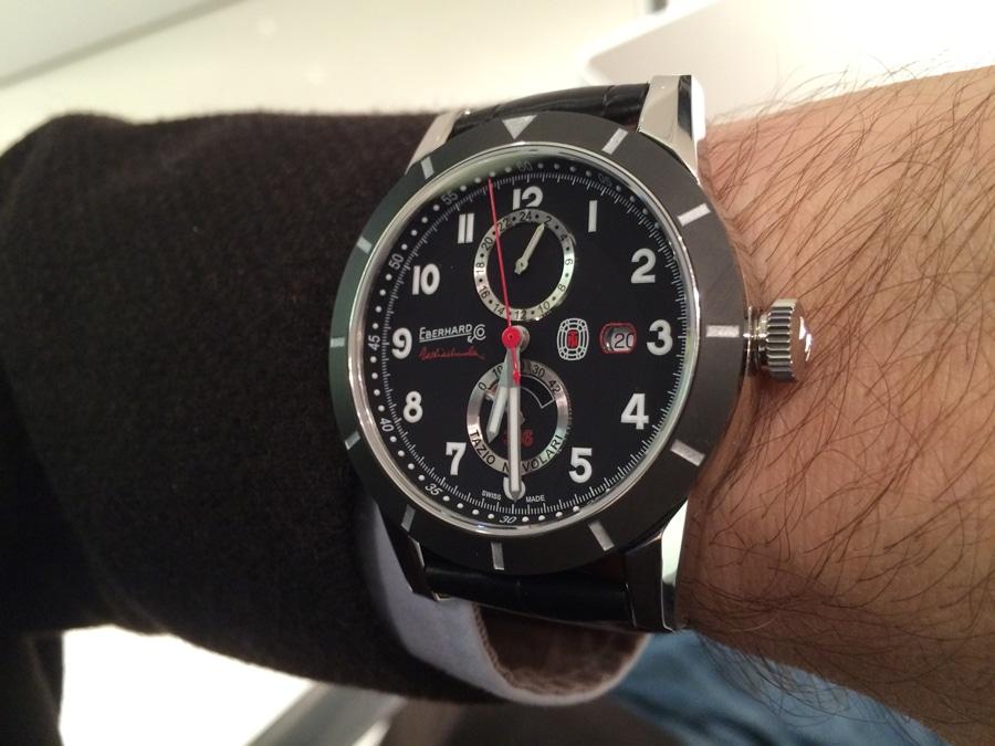 Eberhard & Co.: Tazio Nuvolari 336 Wristshot