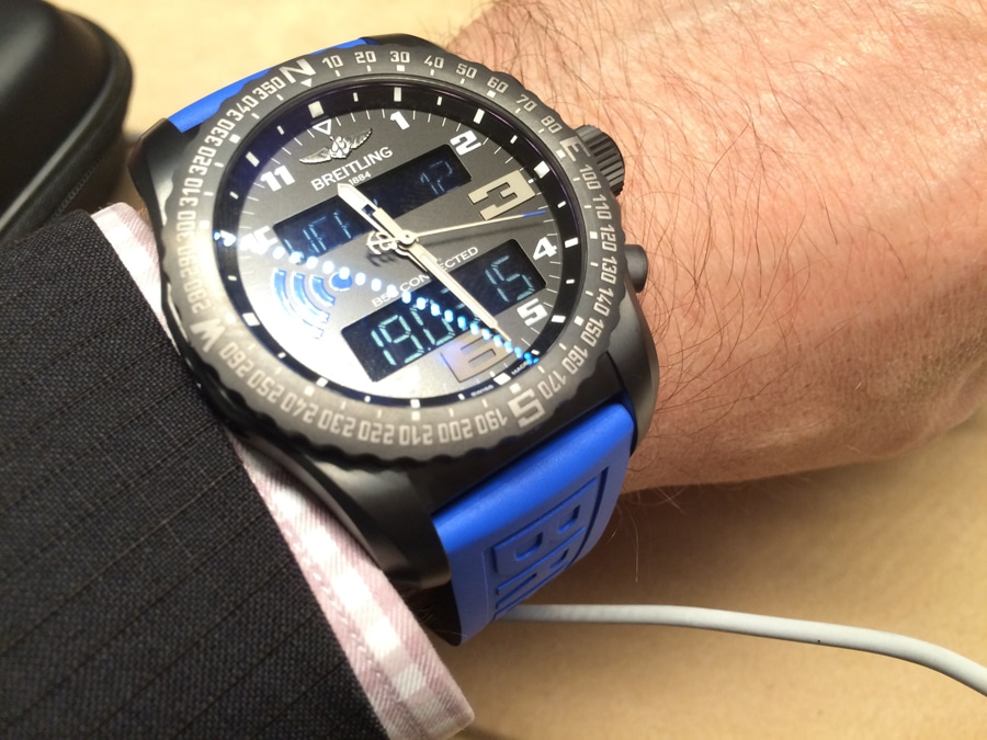 Wristshot Breitling B55 Connected