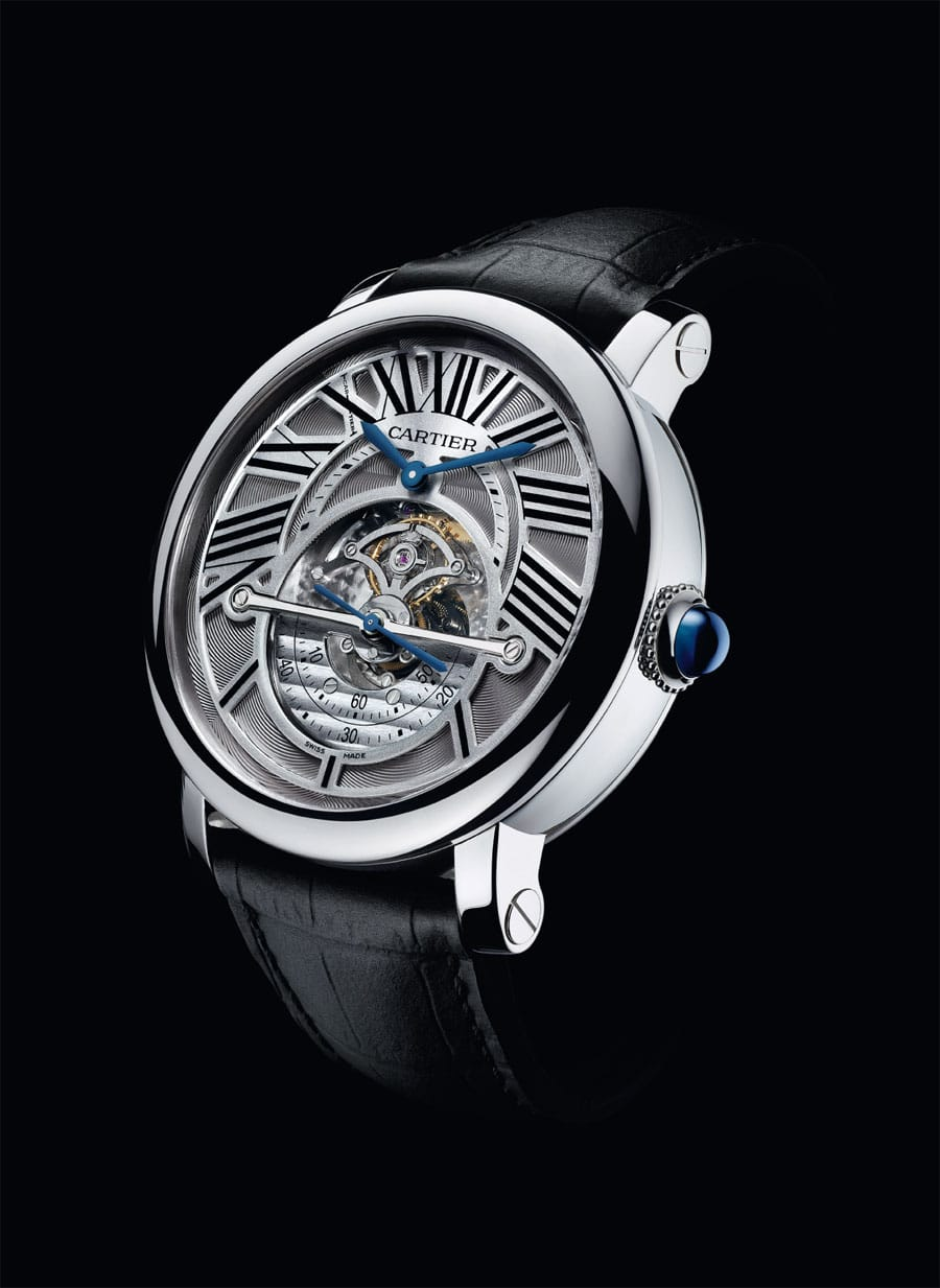 Cartier: Rotonde Astrorégulateur, 2011