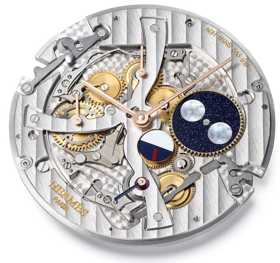 Das Modul von Argenhor, für den ewigen Kalender, besitzt lediglich 1,4 Millimeter Bauhöhe.