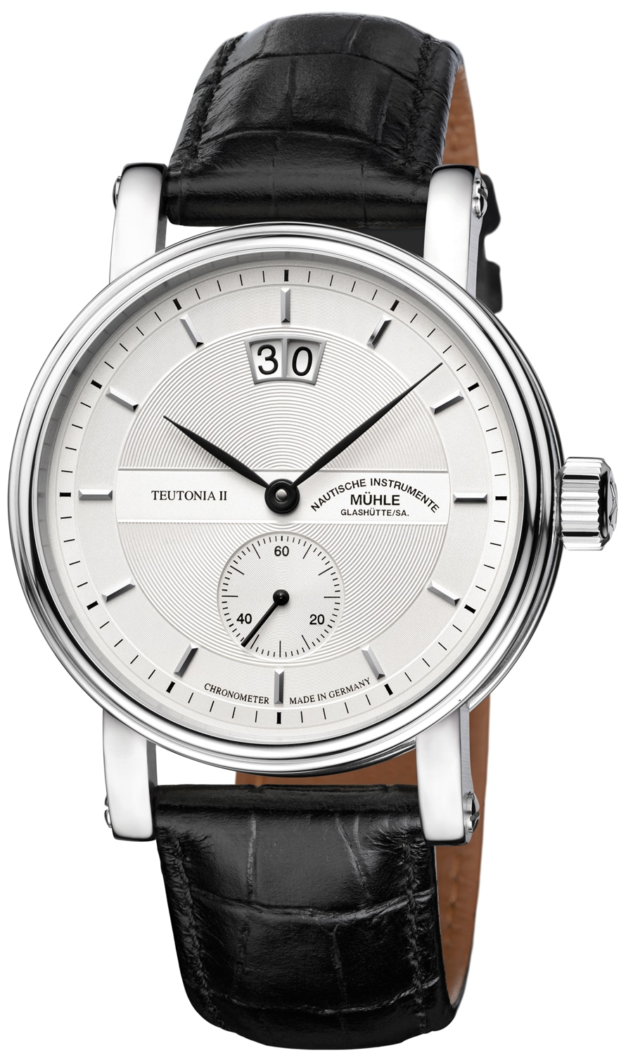 Mühle-Glashütte: Teutonia II Großdatum Chronometer