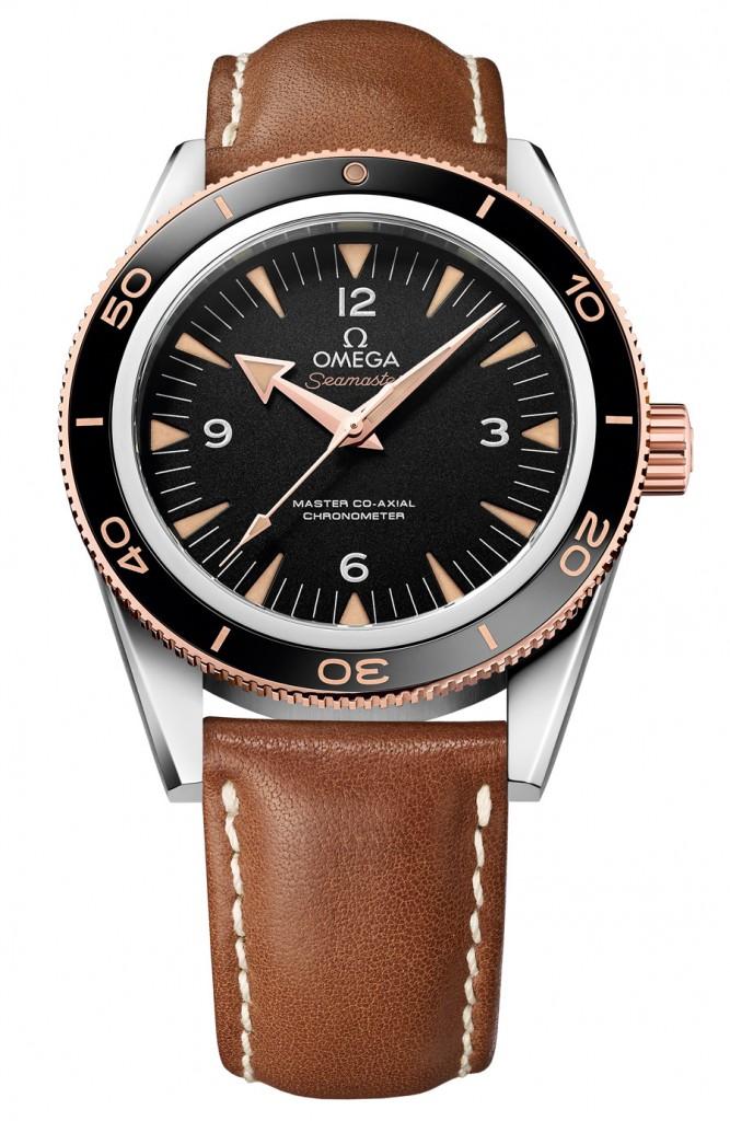 Omega: Seamaster 300 Ceragold